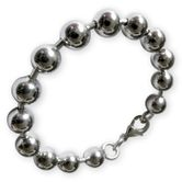 Stainless Steel Ball Women's Bracelet (18.5-22.5 cm) 001