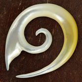 Shell Spiral Stretcher - Whale Fin 001
