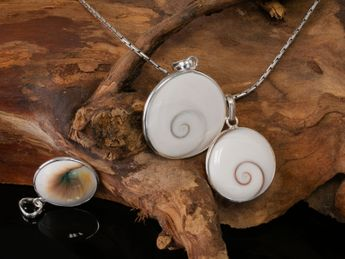 Shiva Eye Pendant Sterling Silver many sizes – picture 4