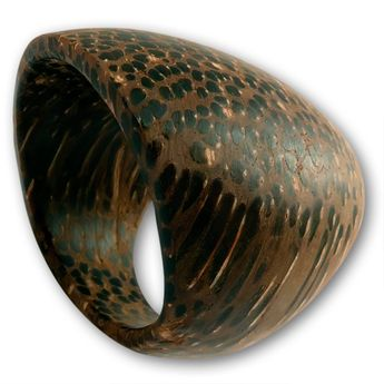 Plain Ring from Sugar Palm Wood