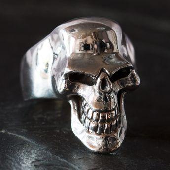 Anillo de Plata con Calavera - Cabeza de la Muerte Terrorífica – picture 3