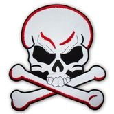"Back Patch ""Skull and Bones"" 001"