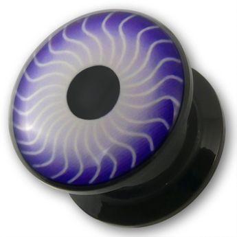 """Acrylic Plug """"Magic Eye"""""""