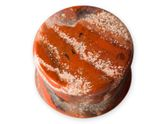 Stone Ear Plug Red Jasper (5-25mm)