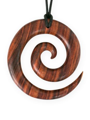 Sono wood Necklace maori tribal – picture 1