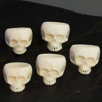 Skull bone ring in Keith Richards style – picture 2