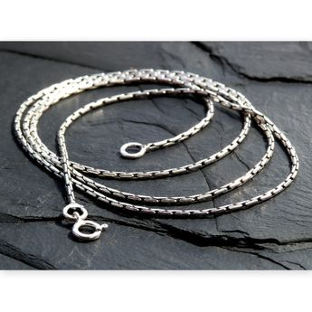Fine 925 Silver Necklace in 5 lengths – picture 1