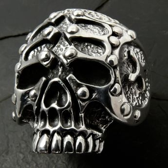 Silver Skull Ring - The Gladiator – picture 3