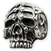 Silver Skull Ring - The Gladiator 001