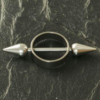 Piercing / Perforación de Pezón - Titanio - Pico – picture 2