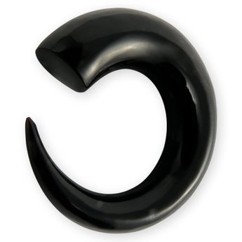 Horn Spiral Taper - Black Ear Claw