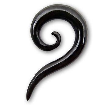 Horn Dehnungssichel - Gebogene Spirale