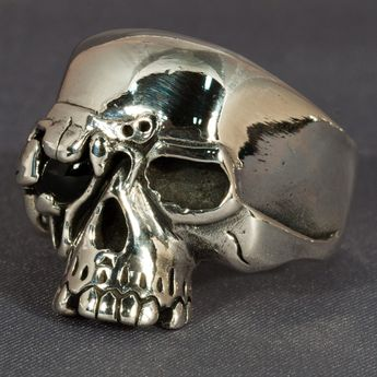 Silver Ring - Cyborg Skull – picture 2