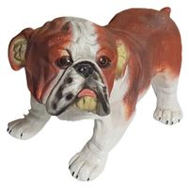 Dekofigur Mops Tierfigur Hund Gartendeko für Innen & Außen 30 x 25 x 45 cm NEU – Bild 1
