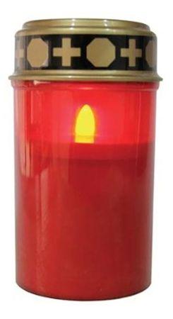 LED Grablicht mit flackereffekt Betriebsdauer bis zu 1200 Std  inkl. Batterien – Bild 1