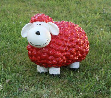 Lustige Tierdeko Schaf bunt versch. Farben auswählbar Garten Deko Tierfigur – Bild 6