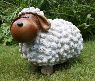 Lustige Tierdeko Schaf bunt versch. Farben auswählbar Garten Deko Tierfigur – Bild 13