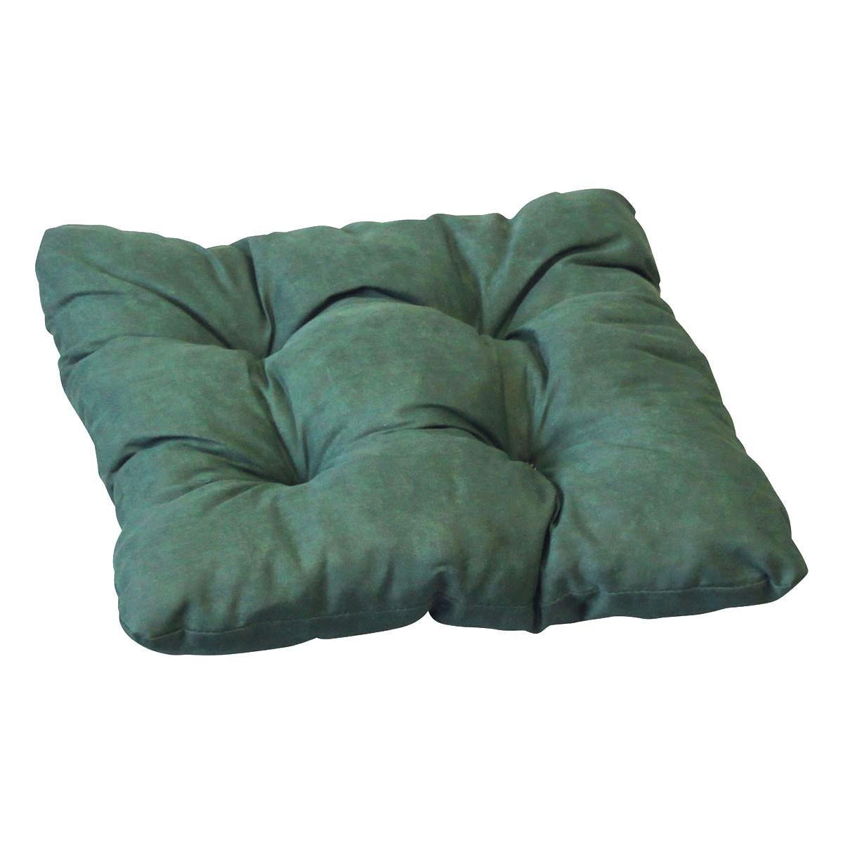 cocktailkissen uni gr n 40x40x8 cm sitzkissen gartenstuhl. Black Bedroom Furniture Sets. Home Design Ideas