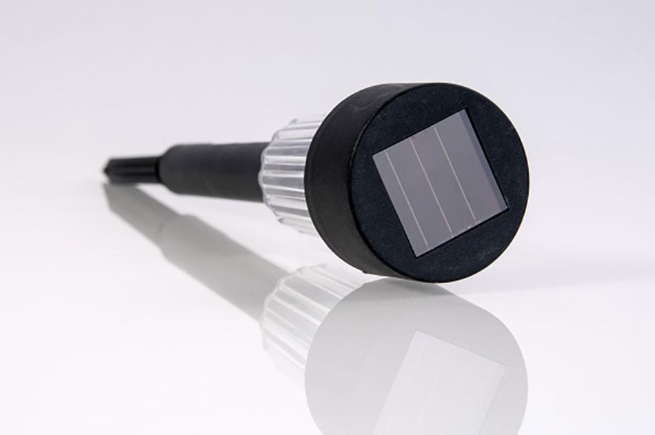 9er set led solarleuchten mit erdspie solarstick. Black Bedroom Furniture Sets. Home Design Ideas