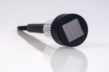 9er Set LED-Solarleuchten mit Erdspieß, Solarstick, Wegeleuchten, Solarlampe – Bild 5