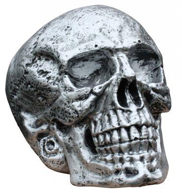 Totenkopf groß Skulptur XXL Skull Totenschädel Toten Kopf Schädel Gothik Mystik – Bild 1
