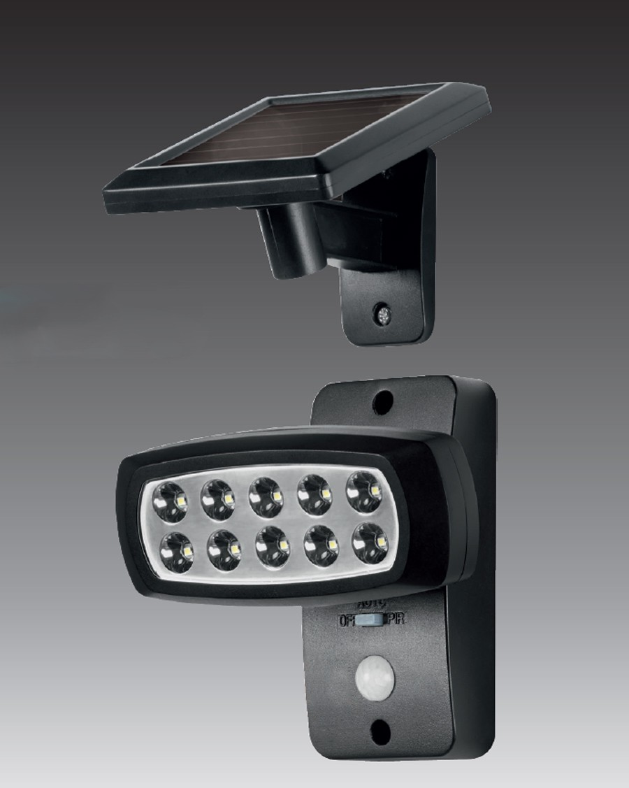 Gut gemocht Solar LED Strahler Spot Solarleuchte Solarstrahler mit IF BP34