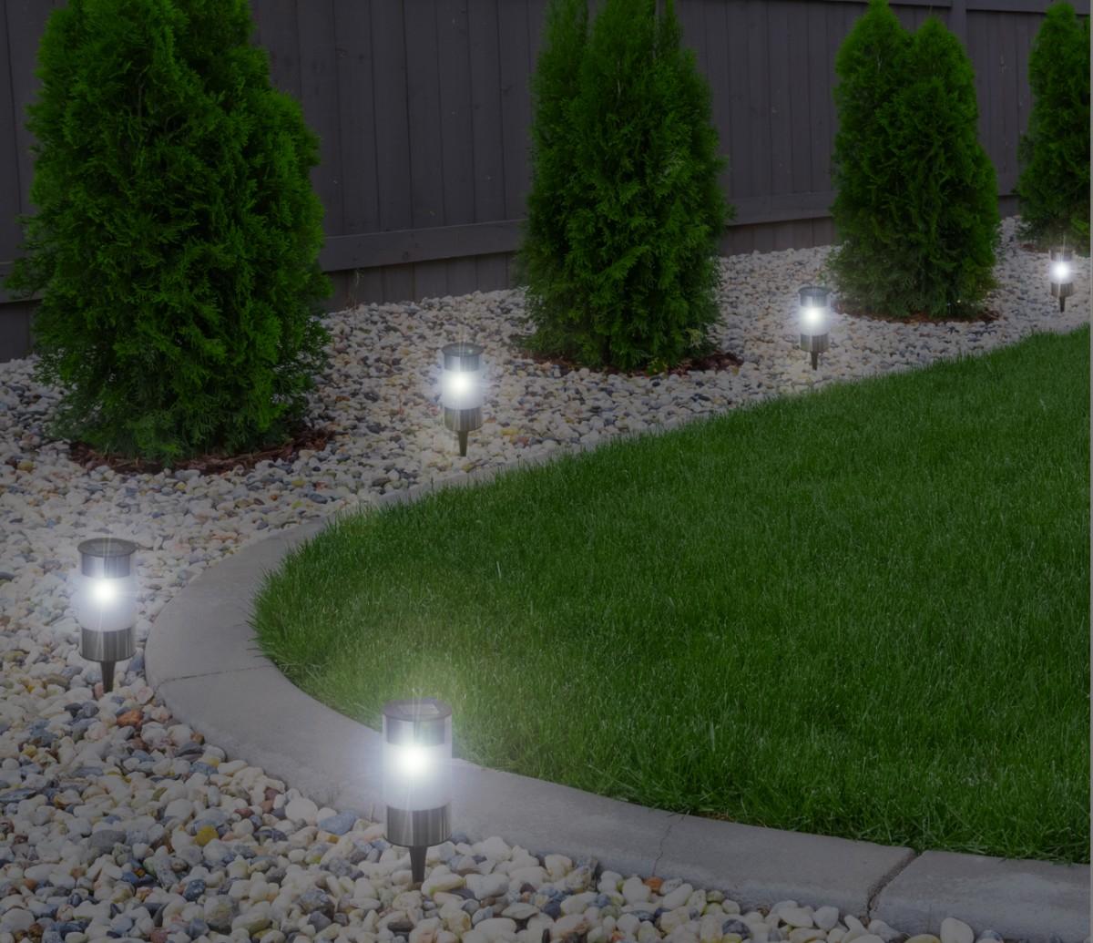 Led Solarleuchte Solarlampe Solarstick Wegbeleuchtung Gartendekoration