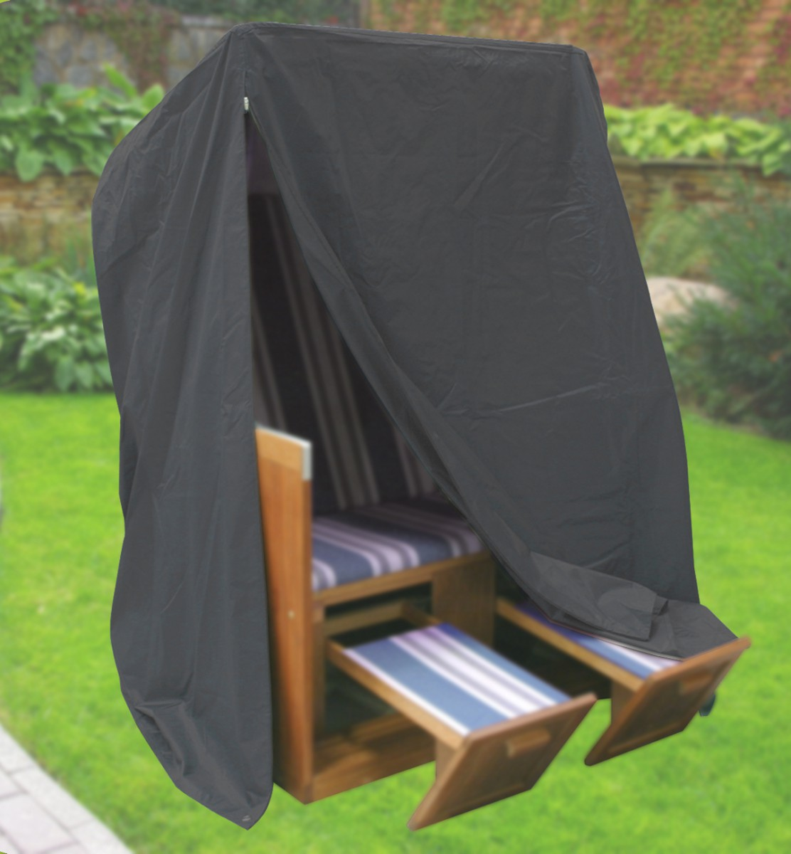 komfort schutzh lle f r strandkorb b153xt105xh170. Black Bedroom Furniture Sets. Home Design Ideas