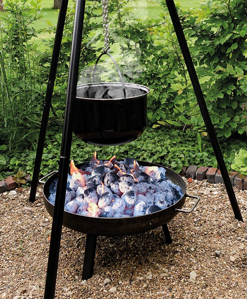 multi grillset schwenkgrill feuerschale emailletopf fischfilethalter flammlachs garten. Black Bedroom Furniture Sets. Home Design Ideas