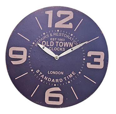 Wanduhr Ø 29 Küchenuhr Wandbehang Wanddeko Uhr 12 verschiedene Desings wählbar – Bild 6
