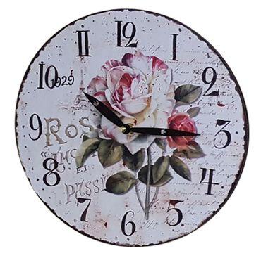 Wanduhr Ø 29 Wandbehang Küchenuhr Wanddeko Uhr 12 versch. Desings wählbar – Bild 12