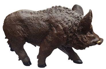Dekofigur Willi das Wildschwein Eber Wildsau Keiler Gartendeko 31 cm  – Bild 3