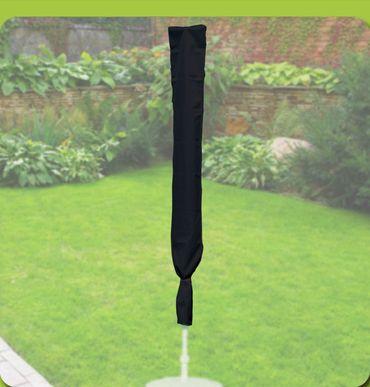 Komfort Schutzhülle für runde Sonnenschirme mit einem Ø von 200-400cm, anthrazit – Bild 1