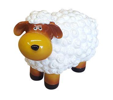 Deko-Schaf bunt versch. Farben Dekofigur Garten Tierfigur lustige Schafe klein – Bild 11