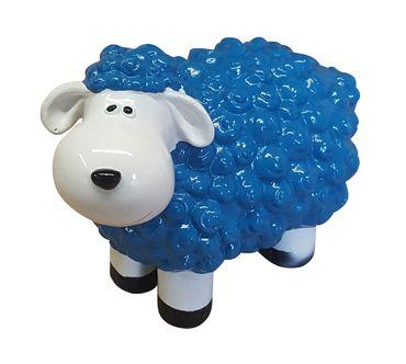 Deko-Schaf bunt versch. Farben Dekofigur Garten Tierfigur lustige Schafe klein – Bild 7