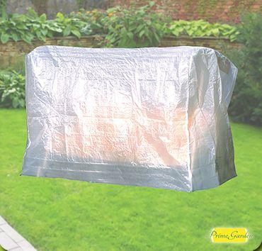 Komfort Schutzhülle für 3er-Gartenschaukel 215x155x145 cm transparent  – Bild 1