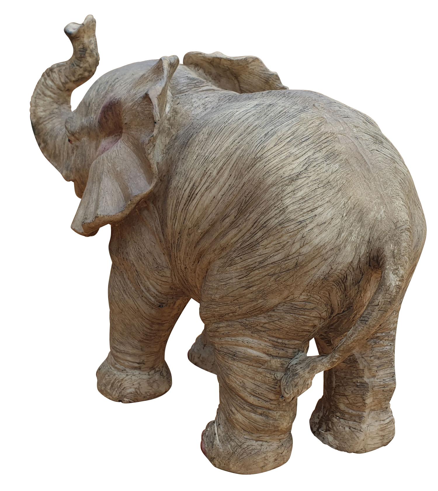 Elefant Glückselefant stehend afrikanische Figur Tierfigur ...