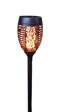 LED Solarfackel Gartenfackel mit flackerndem Flammeneffekt Gartenleuchte Deko – Bild 3