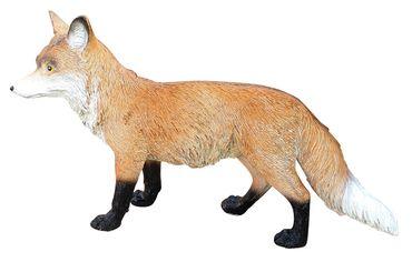 Fuchs Figur Rotfuchs stehend Tierfigur Gartendeko Dekofigur lebensecht Outdoor  – Bild 4