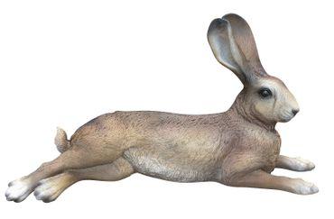 Hase Uwe Dekofigur Feldhase Rammler Kaninchen Gartendeko Ostern Indoor Outdoor – Bild 3