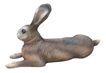 Hase Uwe Dekofigur Feldhase Rammler Kaninchen Gartendeko Ostern Indoor Outdoor – Bild 5