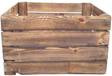 Holzkisten Weinkisten Obstkisten Apfelkisten Vintage 1 Stück 51x41x31 cm – Bild 2