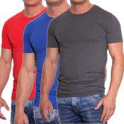 10601 JACK & JONES Herren T-Shirt 12058529 Basic O-Neck Tee - 12059654