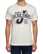 Jack & Jones Raffa Tee Herren T-Shirt - 12059972
