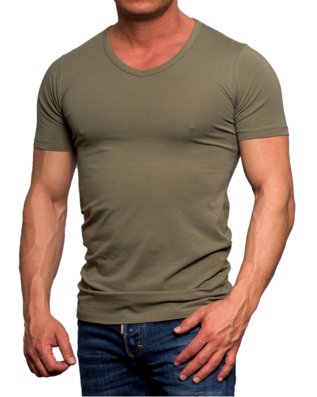 T Jones Slim Jackamp; V 10602 Neck Shirt Men's Basic Tea Fit 92YWEbeDIH