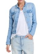 Only Damen Jeansjacke New Westa Light Blue - 12060002