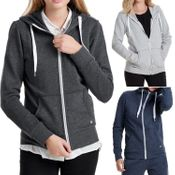 7073 Only Coolie Zip Hood Sweatjacke - 12060067