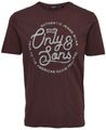 Größe:S;Farben O&S :Cloud Dancer (HEINE) - Only & Sons Herren T-Shirt