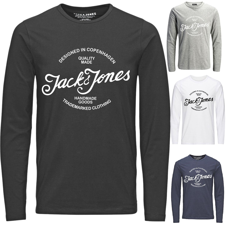 Jack & Jones  Herren Langarmshirt Motiv