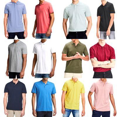 JJ Farbe:Navy Blazer;Größe:S - 5080 Jack & Jones Basic Polo Shirt